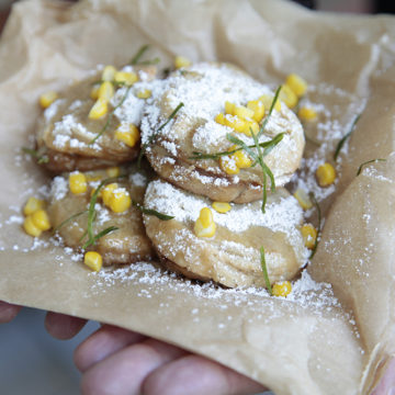Coconut Pancakes – Laos Style