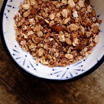 Buckwheat, Cranberry and Rose Muesli