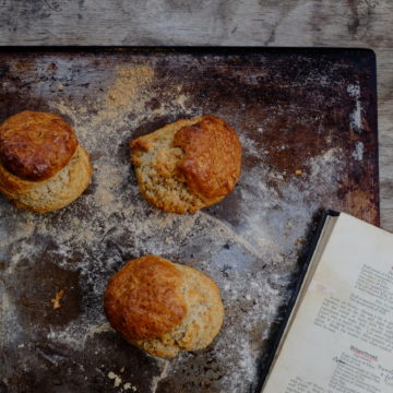 Scones with Orange and Star Anise